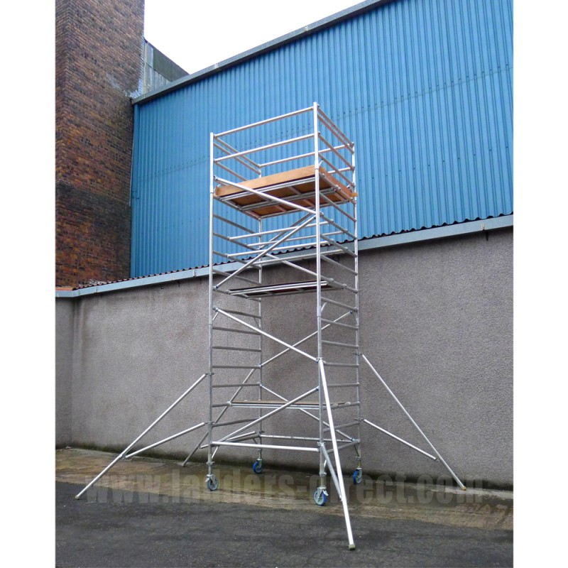 Aluminum Scaffold Tower : Clow worldspan aluminium scaffold tower