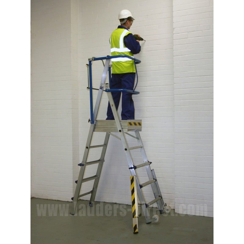Clow Adjustable Magic Platform Ladders Direct Com