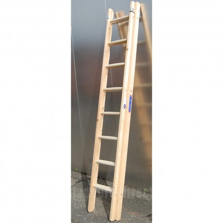 Light Trade Timber Extension Ladder (Dual Section, Push Up) to EN131