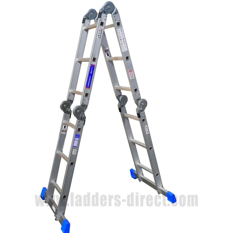 Clow Folding Multi Function Ladder Ladders Direct Com