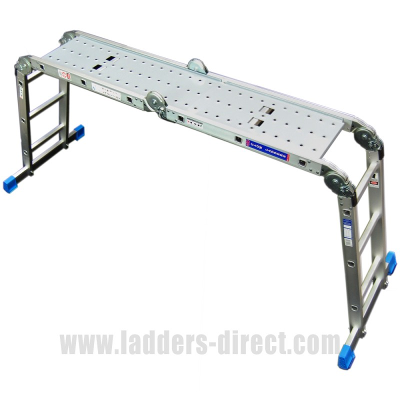 Clow Folding Multi Function Ladder Ladders Direct Com