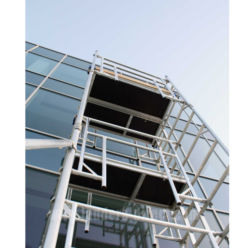 Aluminum Scaffold Tower : Integral advance guardrail aluminium scaffold tower