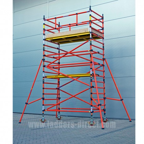 Clow Glassfibre Scaffold Tower