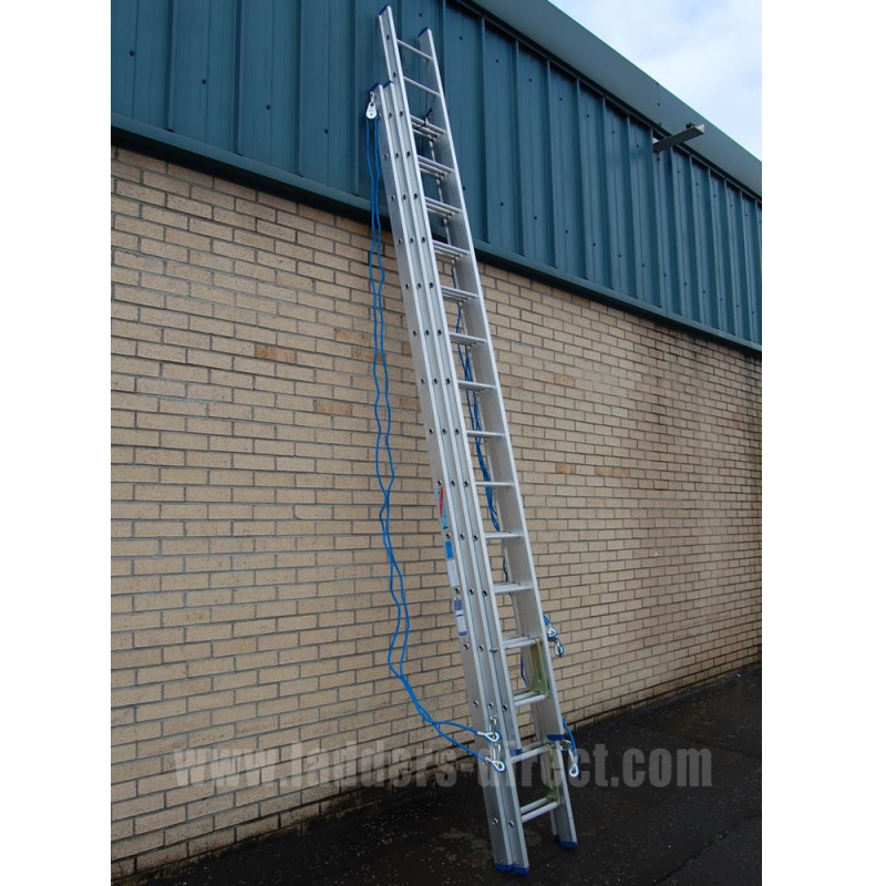Clow Aluminium Extn Ladder Rope Op To Class 1 Ladders