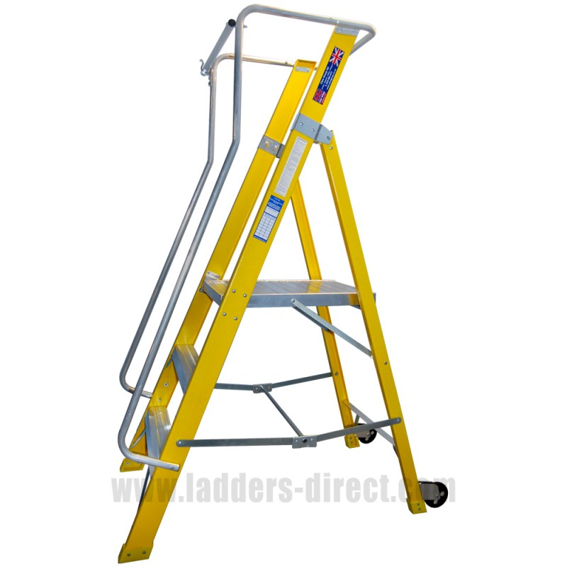 Clow Superglas Ar Podium Platform Step Ladders Direct Com