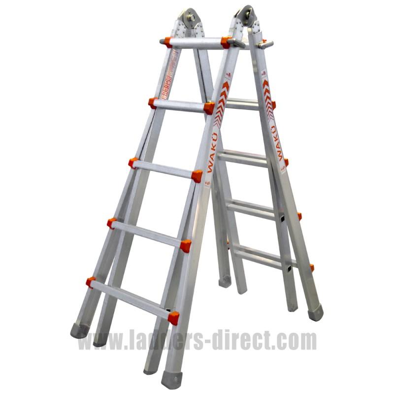 Waku Multi Function Ladders To En131 Ladders Direct Com