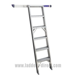 Clow Aluminium Shelf Ladder