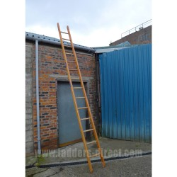 Wire Reinforced Timber Ladder (Single Section) to BS1129 Class 1