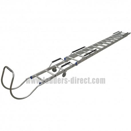 Clow Aluminium Extending Roof Ladder
