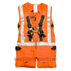 Clow Mammoth Anti-Trauma Harness - Hi-Visibility Orange - Front