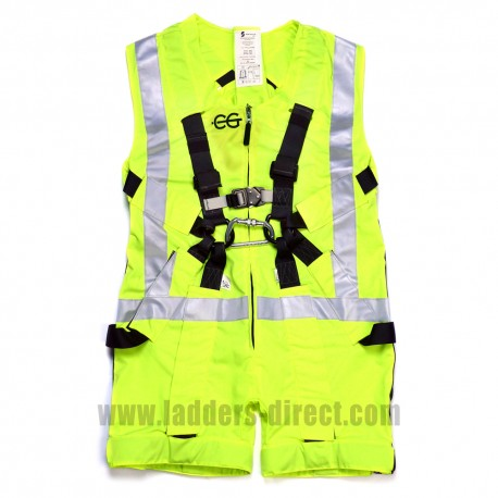 Clow Mammoth Anti-Trauma Harness - Hi-Visibility Yellow - Front