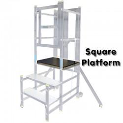 Aluminium Podium Step - Replacement Square Platform