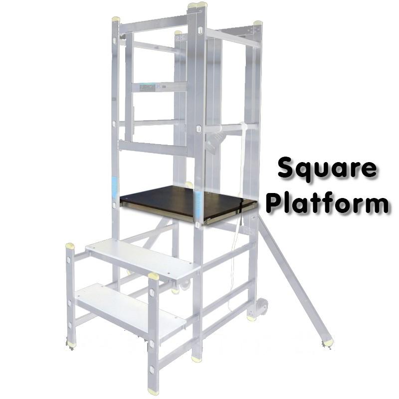 Aluminium Podium Step Replacement Square Platform