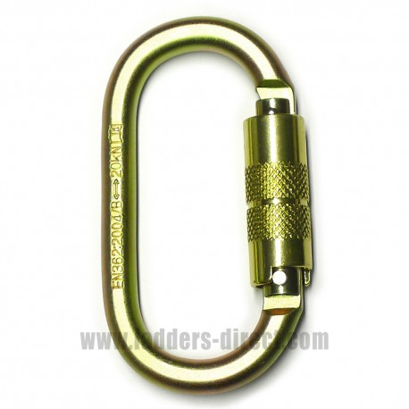 Clow Twist Lock Carabiner