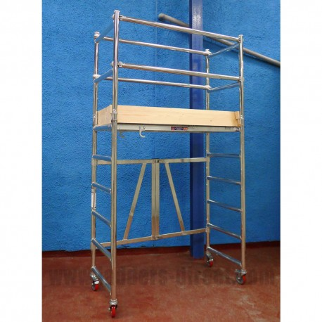 Aluminium Mobile Minifold Unit