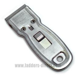 Ettore Metal Case Pocket Scraper