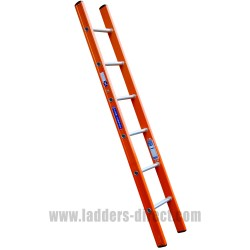 Aluglas Glassfibre Ladder (Single Section) to BS EN131