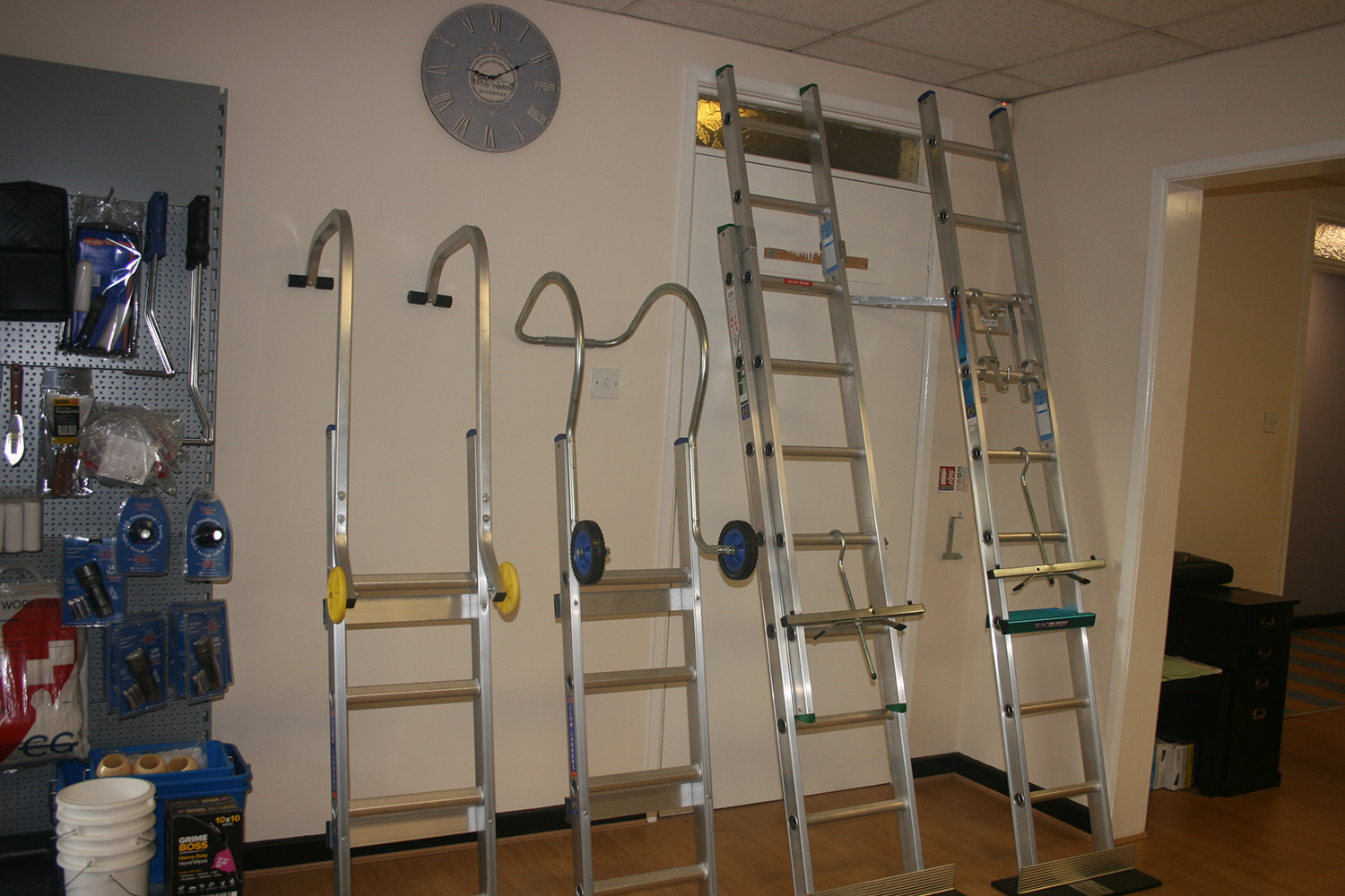 Ladders Direct Midlands Showroom
