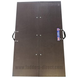 Clow Folding Loft Crawl Board open top view