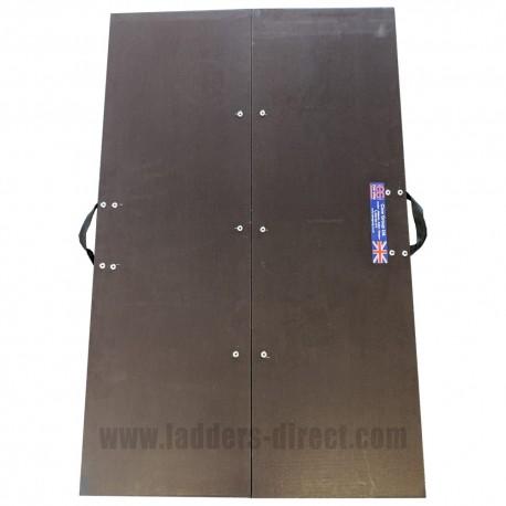 Clow Folding Loft Crawl Board open top view