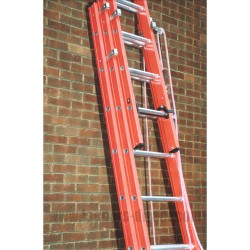 Clow Aluglas Glassfibre Rope Operated Trade Extension Ladder
