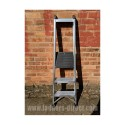 Clow HEPS Aluminium Trade Platform Step Ladder