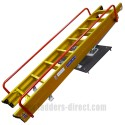 Clow Heavy Duty Sliding Loft Ladder