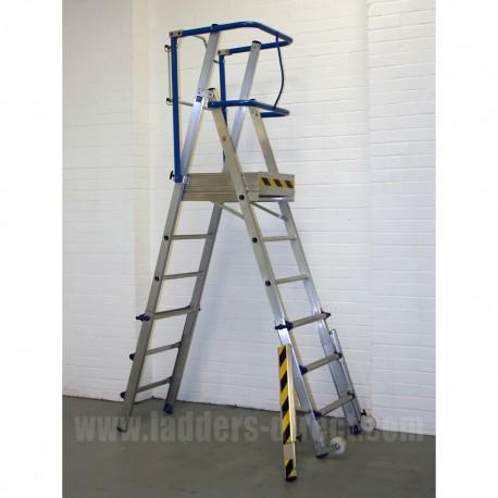 Clow Adjustable Magic Platform Ladders Direct Com
