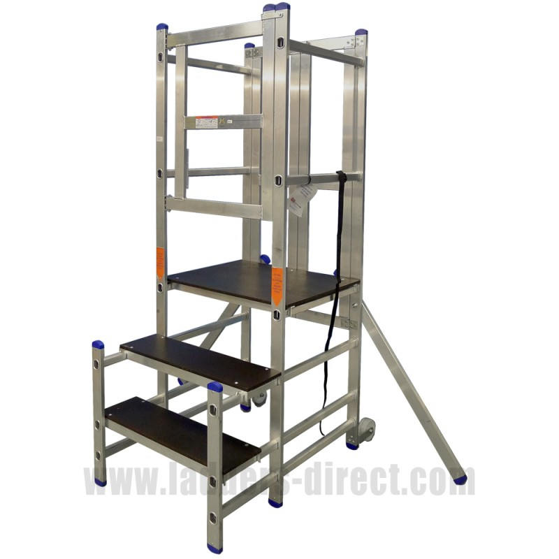 Clow Aluminium Podium Step Ladders Direct Com