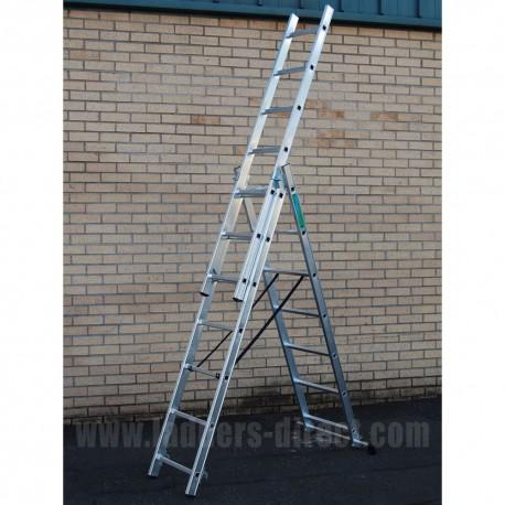 Reach-A-Light Combination Ladder to EN131
