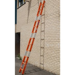 Clow Euroglas Glassfibre Surveyors Ladder