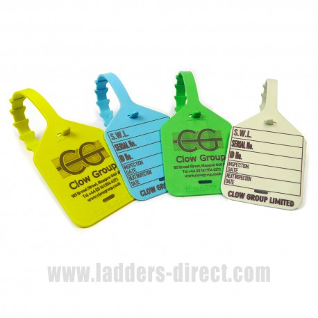 Clow Lifting Inspection Tags