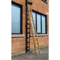 Clow Standard Timber Push Up Industrial Extension Ladder