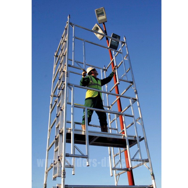 Integral Advance Guardrail Aluminium Scaffold Tower