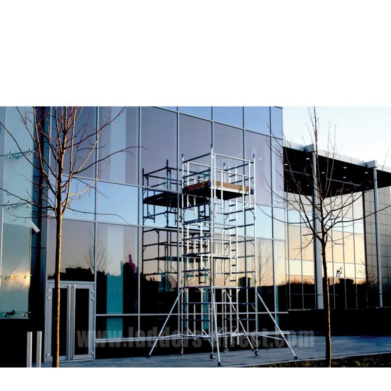 Integral Advance Guardrail Aluminium Scaffold Tower