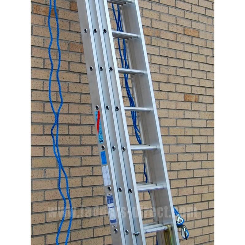 Clow Aluminium Extn Ladder Rope Op To Class 1 Ladders