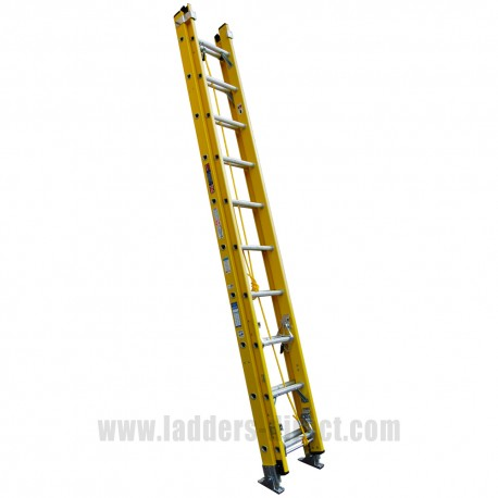 Superglas Glassfibre Extension Ladder (Rope Operation) to BS EN131