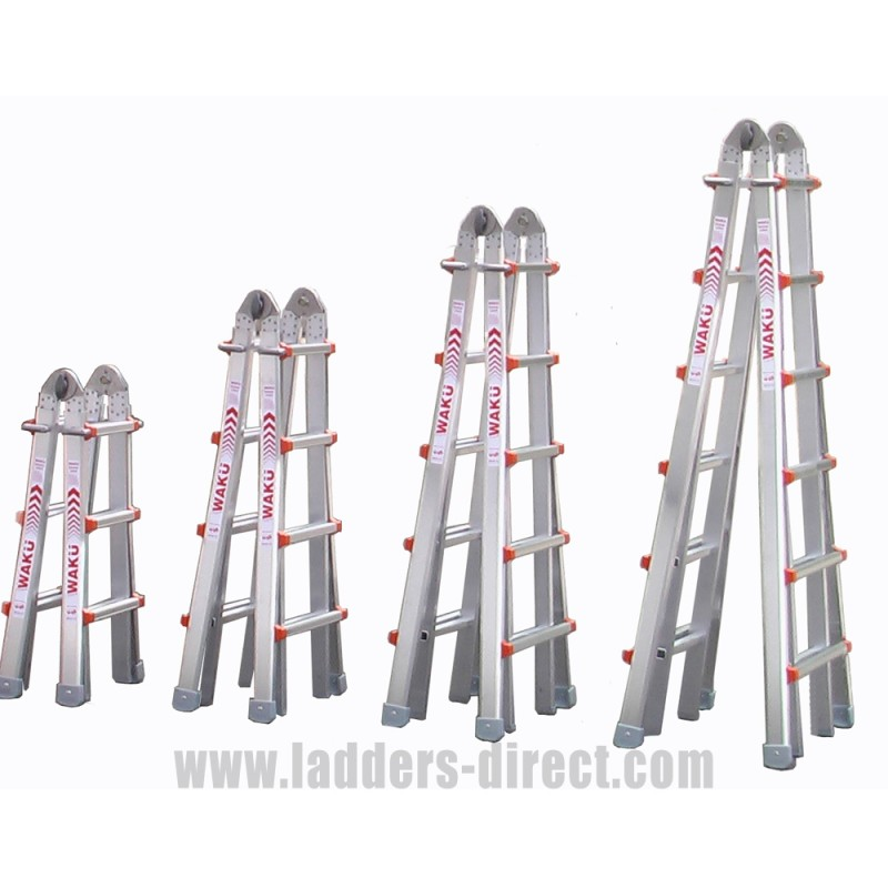 Waku Multi Function Ladders To En131 Ladders Direct Com