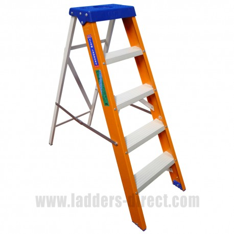 Euroglas Glassfibre Stepladder to EN131