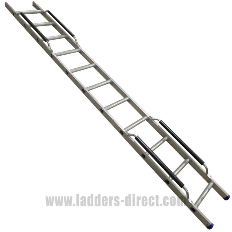 ERL2 Extension Section for Clow Aluminium Extending Roof Ladder  sc 1 st  Ladders-Direct.com : extension roof ladder - memphite.com