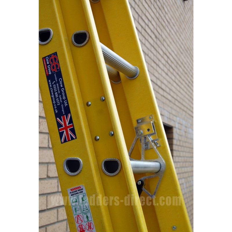 Clow Glassfibre Extension Ladder To En131 Ladders Direct Com