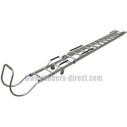 Clow Aluminium Extending Roof Ladder