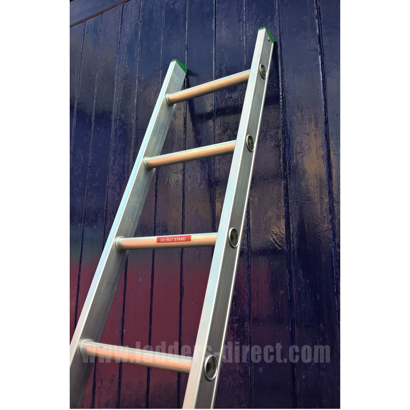 Clow Aluminium Ladder Single Section To En131