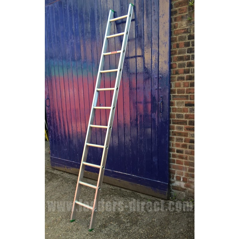 Clow Aluminium Ladder Single Section To En131 From The