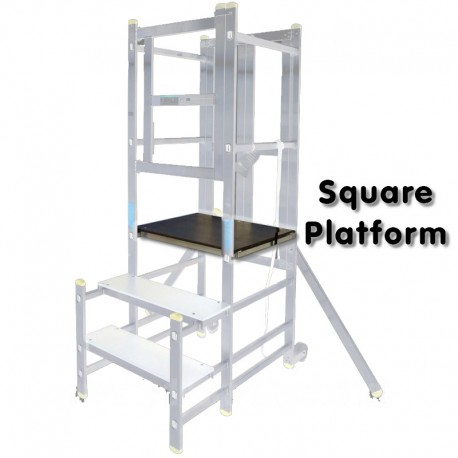 Aluminium Podium Step - Replacement Square Platform