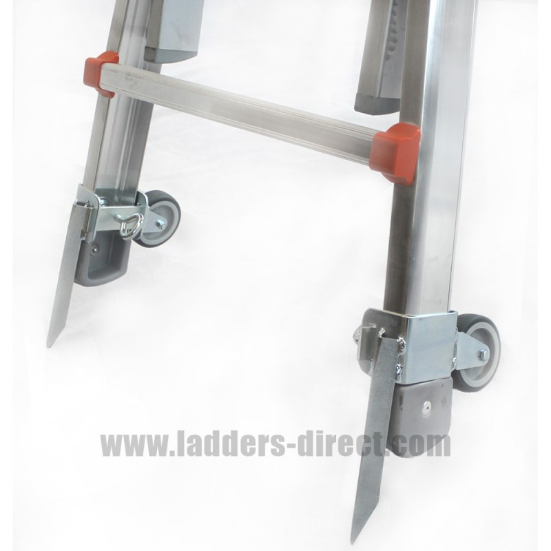 Waku Ladder Wheels With Ground Spikes Pair
