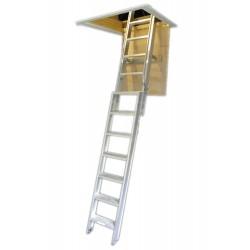 Deluxe Aluminium Loft Ladder - Open