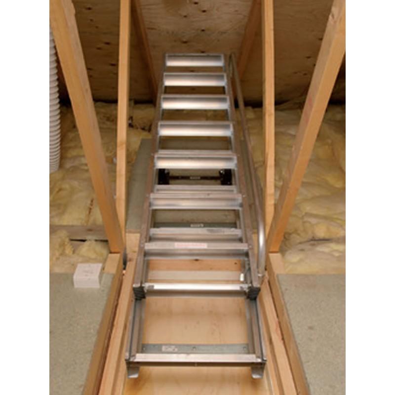 Clow Deluxe Aluminium Loft Ladder