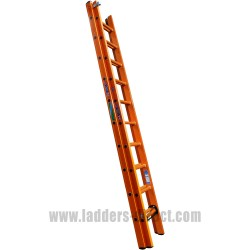 Euroglas All Glassfibre Extension Ladder (Push Up) to EN131