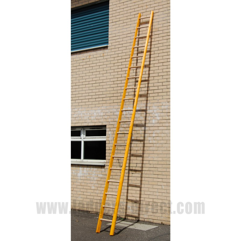 Timber Pole Ladder To Bs1129 Class 1 Ladders Direct Com
